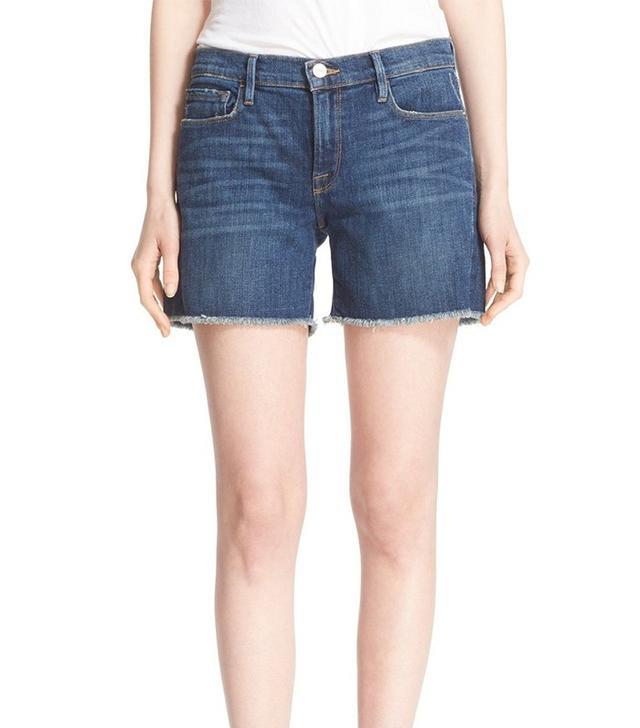 Frame Le Cutoff Jean Shorts