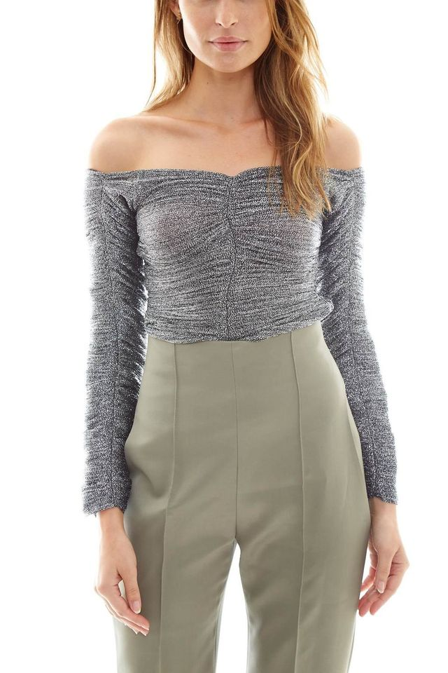 Georgia Alice Girls Metallic Top