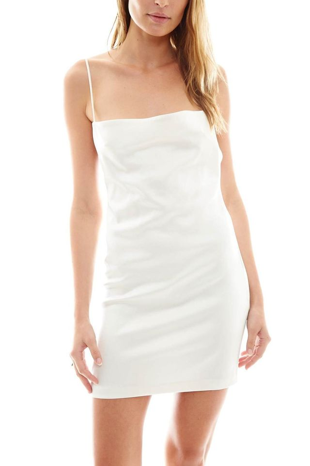 Paris Georgia Blaze Ivory Slip Dress