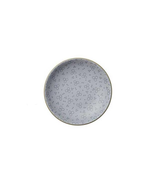 Heath Ceramics Indigo Rosebud Plate