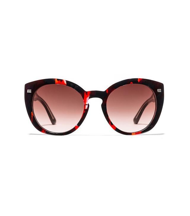 Etro Patterned Cat-Eye Sunglasses