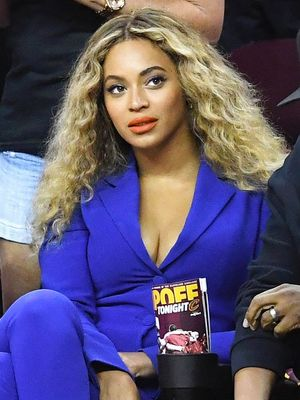 Beyoncé Wore Something Totally Unexpected to the NBA Finals