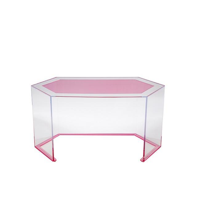 Alexandra von Furstenberg Axle Acrylic Desk
