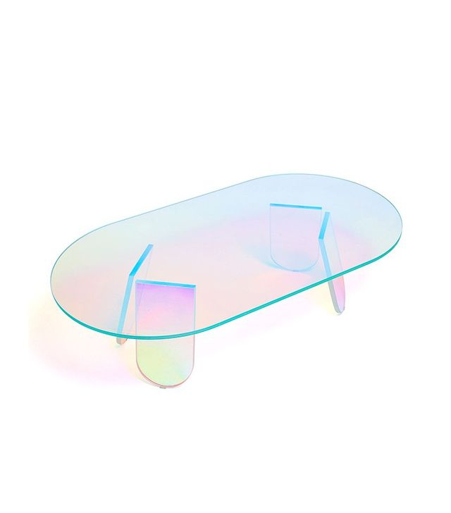 Glas Italia Shimmer Cocktail Table
