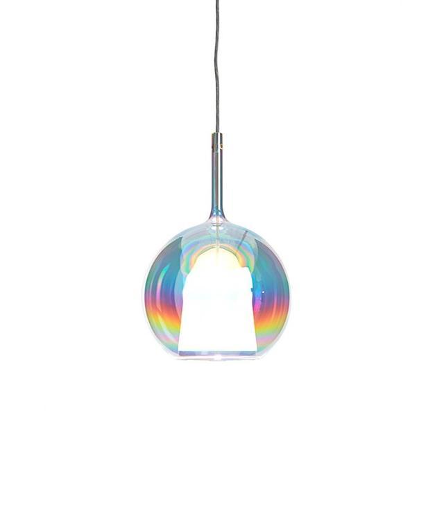 ABC Home Small Iridescent Glo Pendant