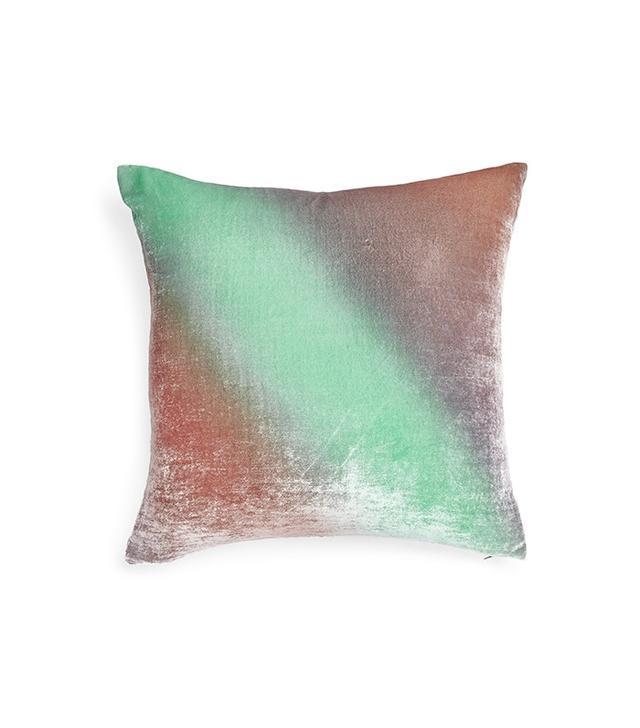 Kevin O'Brien Rose Gradient Velvet Pillow