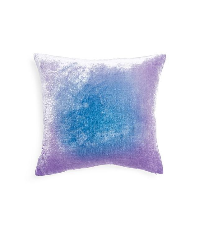 Kevin O'Brien Cornflower Ombre Velvet Pillow