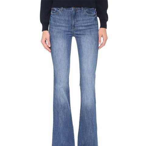 Heather High Rise Flare Jeans