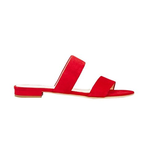 Double-Band Slide Sandals