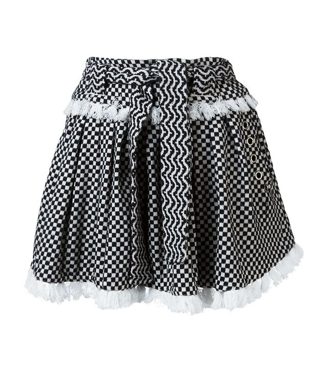Dodo Bar Or Checked Skirt