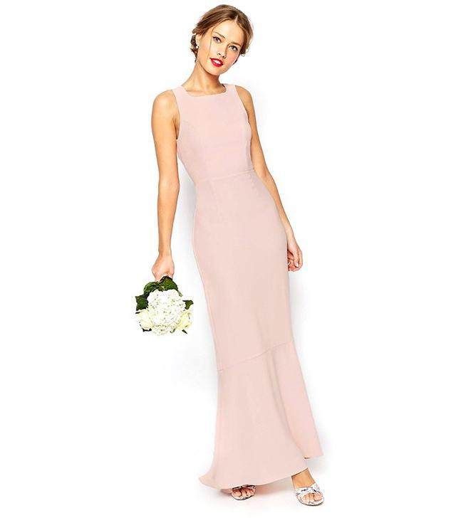 ASOS Wedding Maxi Dress With Fishtail Hem