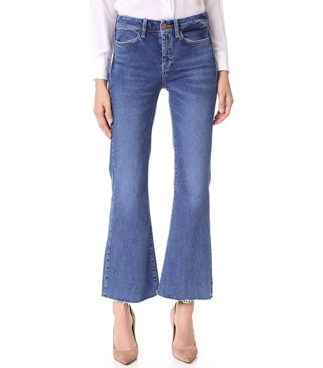 M.i.h Jeans Lou Cropped Flare Jeans