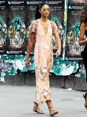 Chanel Iman Wore the Dress Brand It Girls Love
