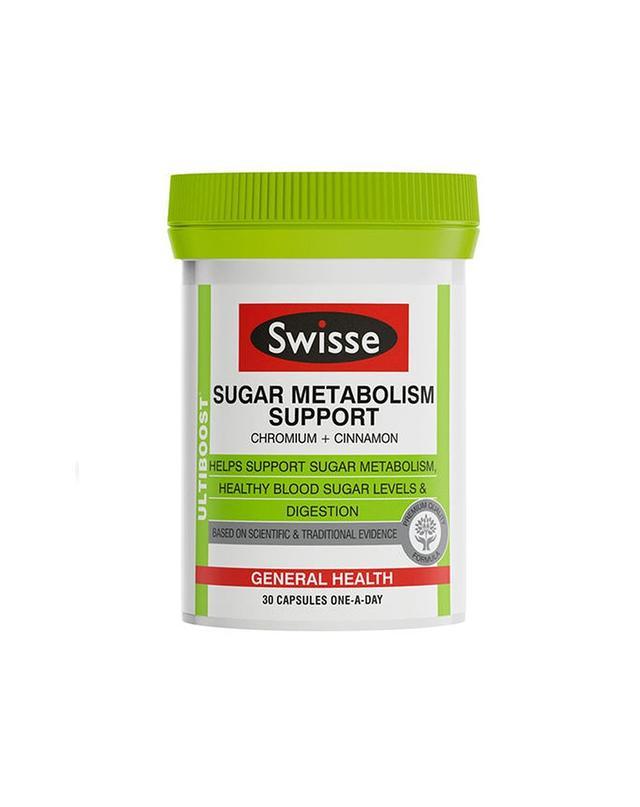 Swisse Ultiboost Sugar Metabolism Support