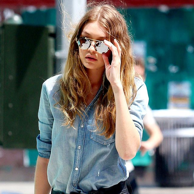 Gigi Hadid Just Took Airport Dressing to a Whole New Level