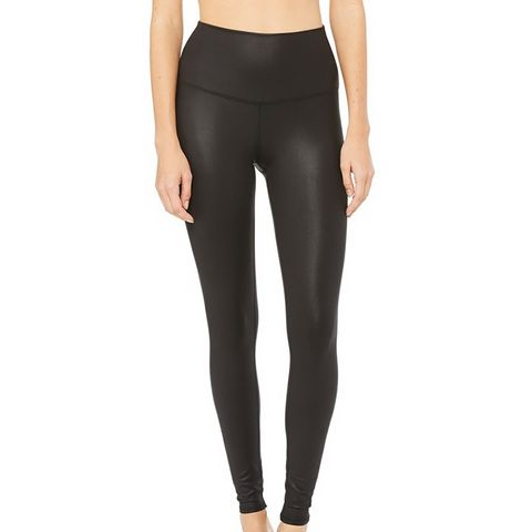 High-Waist Airbrush Leggings