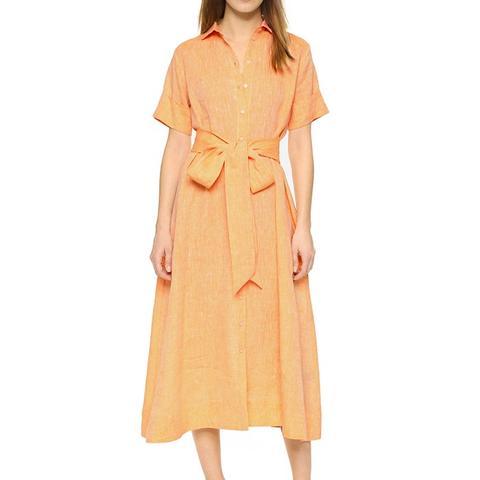Linen Shirtdress
