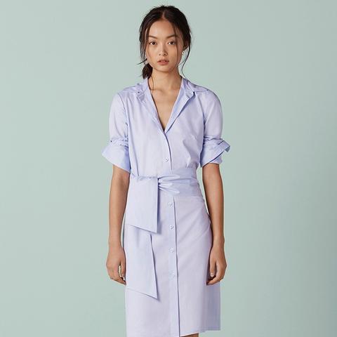 Brunswick Integrated Wrap Shirt Dress