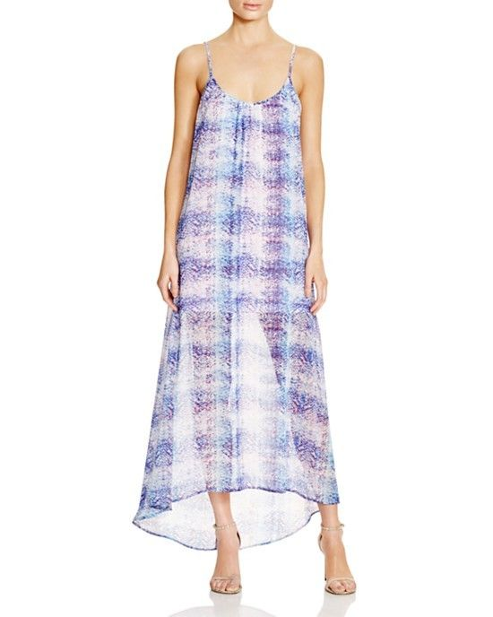 Show Me Your MuMu Turlington Snake Print Maxi Dress
