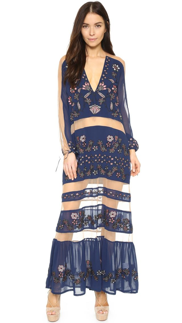 For Love & Lemons Niccola Maxi Dress