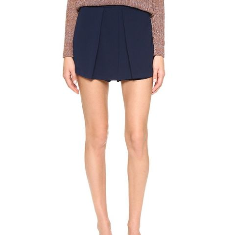Siouxsie Pleated Shorts