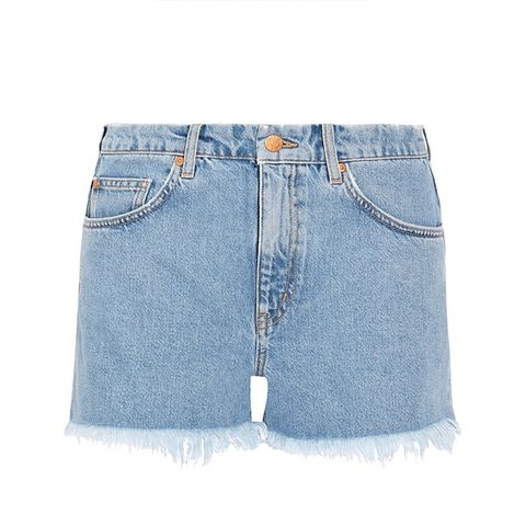 Halsy Cut-off Denim Shorts