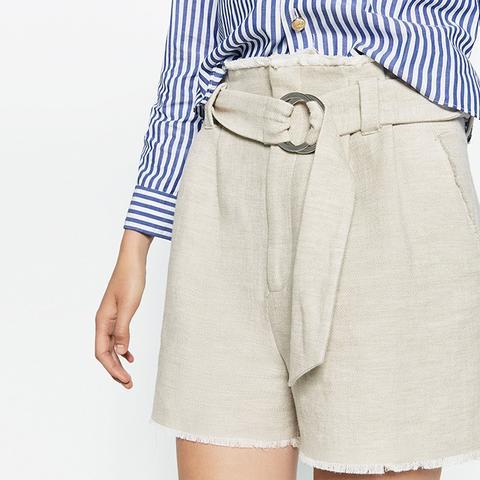 Belted Studio Shorts