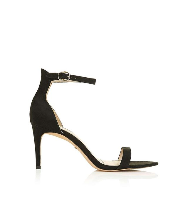 Topshop Row Skinny Two-Part Sandals