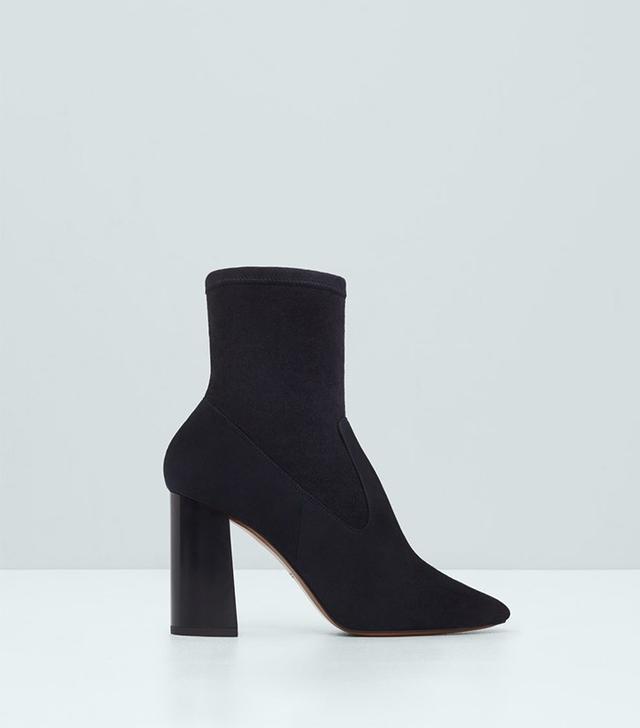 Mango Premium-Leather Ankle Boots