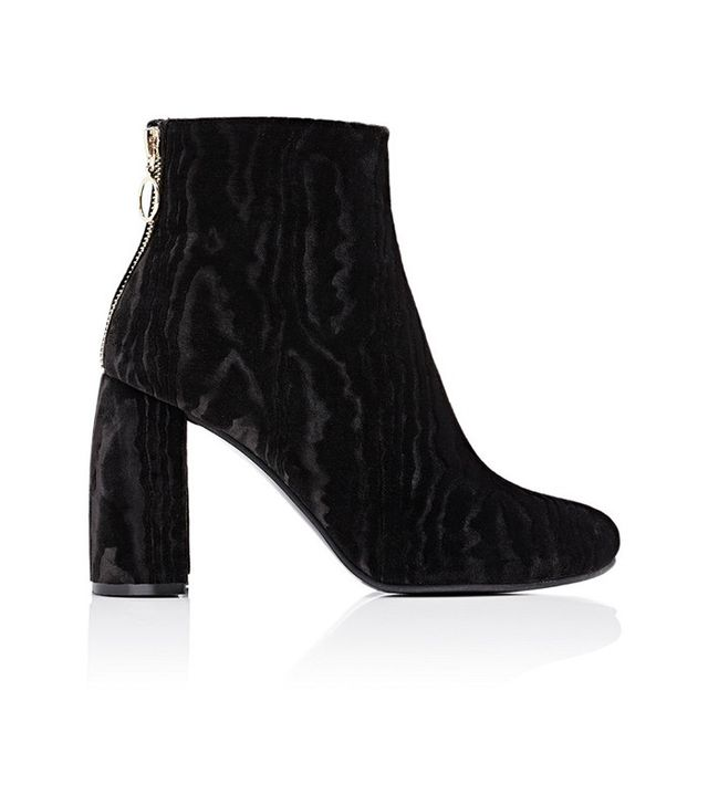 Stella McCartney Back-Zip Ankle Boots