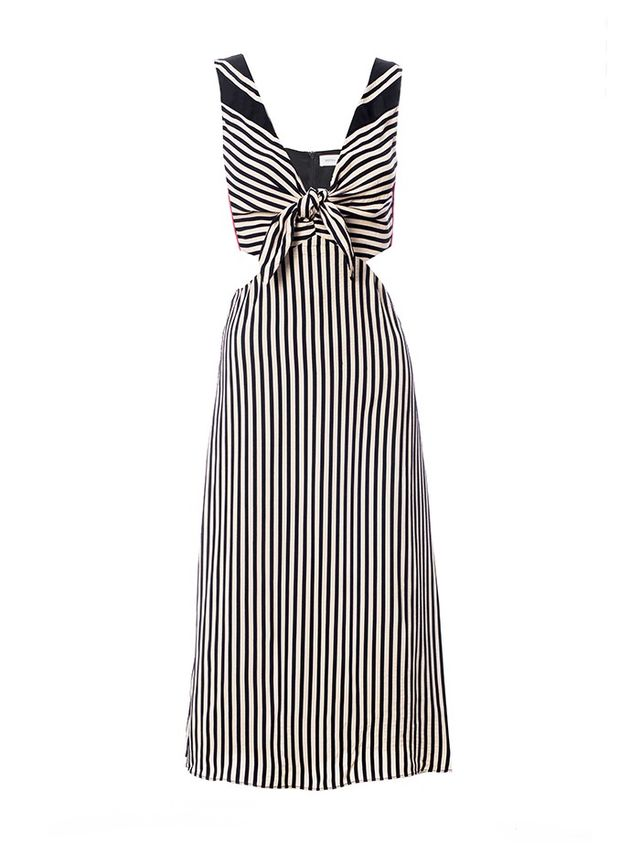Misha Nonoo Lexa Striped Midi Dress