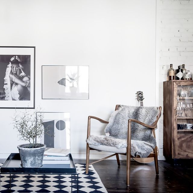 Tour a Moody Swedish Apartment With a Minimalistic Feel