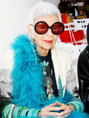 Iris Apfel Has Some Exciting Fashion News