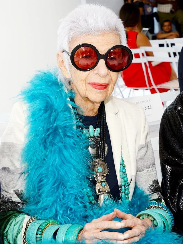 Iris Apfel Has Some Exciting Fashion News Whowhatwear