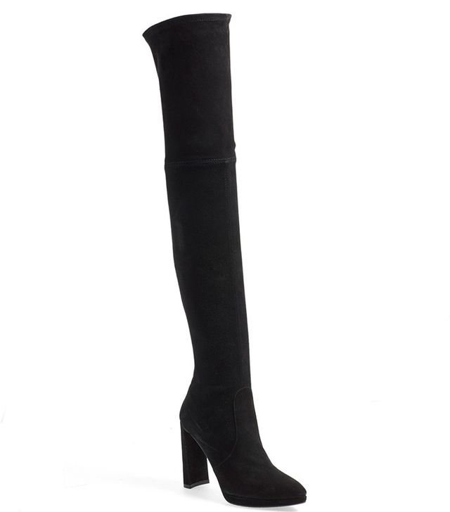 Stuart Weitzman Skyscraper Over the Knee Boot
