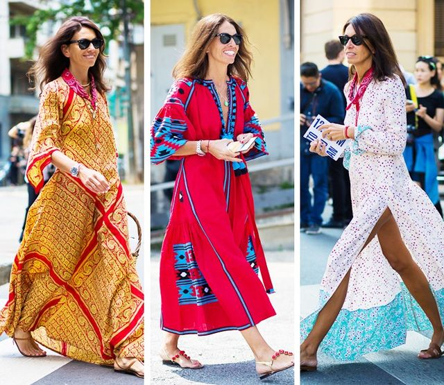 Boho Dress + Neutral Sandals