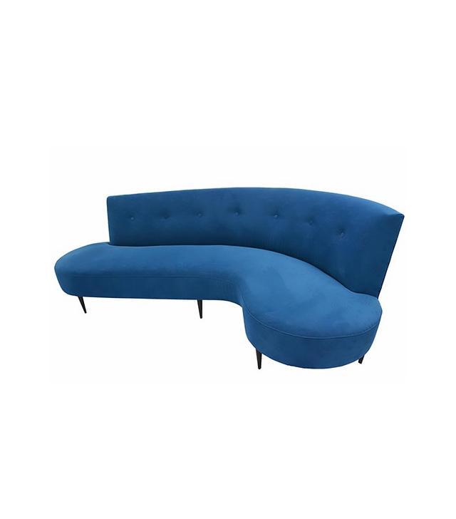 Domenico Parisi 1950s Serpentine Sofa