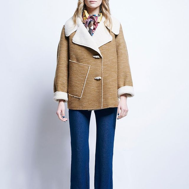 Karen Walker Ace Cropped Coat