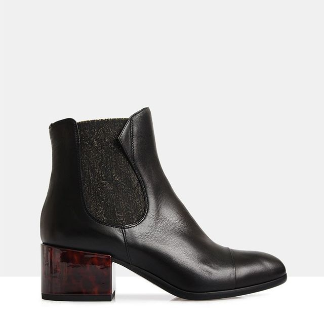 Beau Coops Windsor Nero Leather Boots