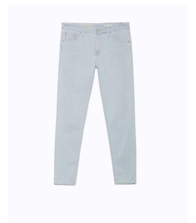 AG The Farrah Skinny Crop Contour 360 Jeans