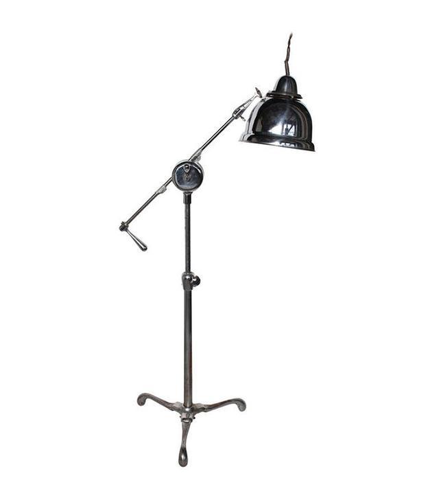 1stdibs Original American Industrial Floor Lamp