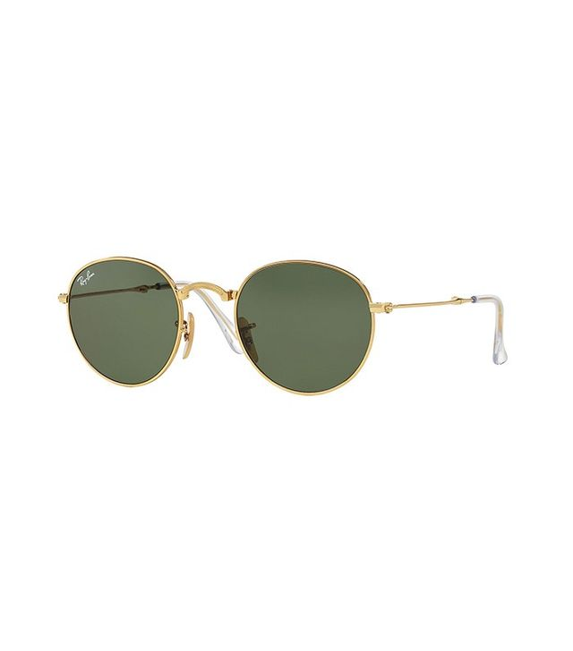 Ray-Ban Round Etched Sunglasses