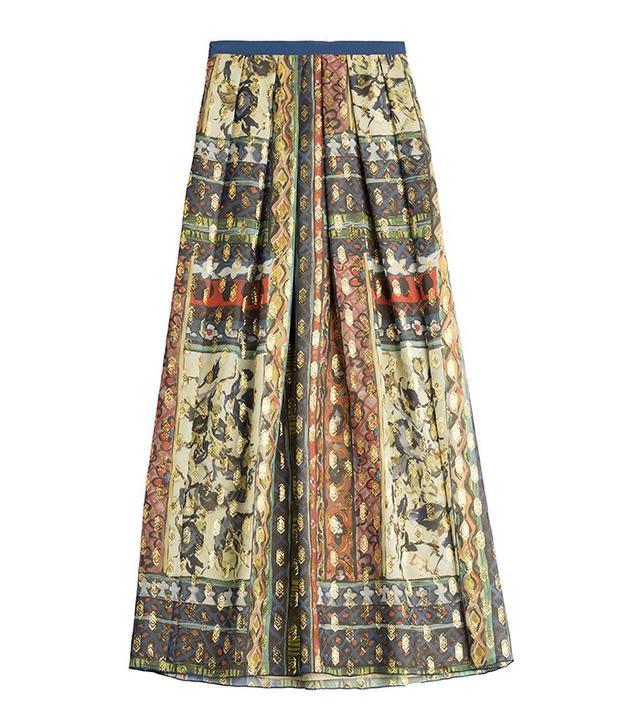 Alberta Ferretti Silk Skirt