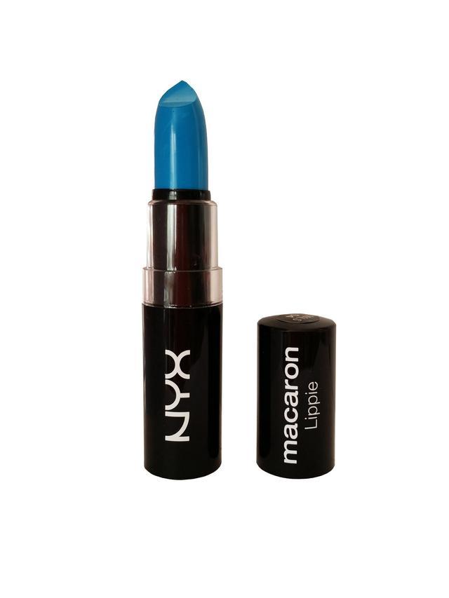 Nyx Cosmetics Macaron Lippies in Blue Velvet