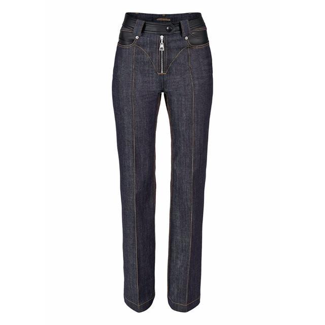 Louis Vuitton Overstitched Denim Pants