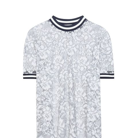 Ayame Embroidered Lace Shirt