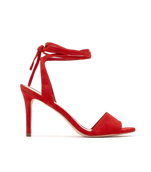 Loeffler Randall Elyse Ankle Tie High Heeled Sandals