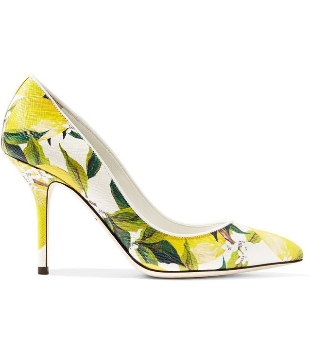 Dolce & Gabbana Printed Pumps