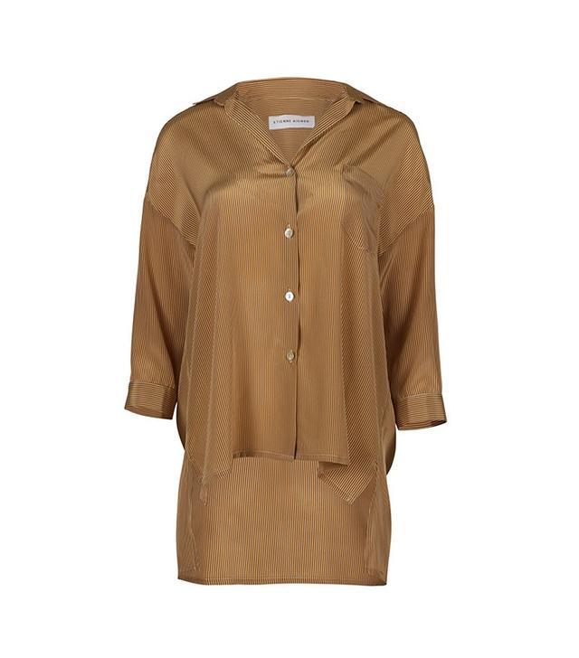 Etienne Aigner 3/4 Sleeve Oversized Shirt