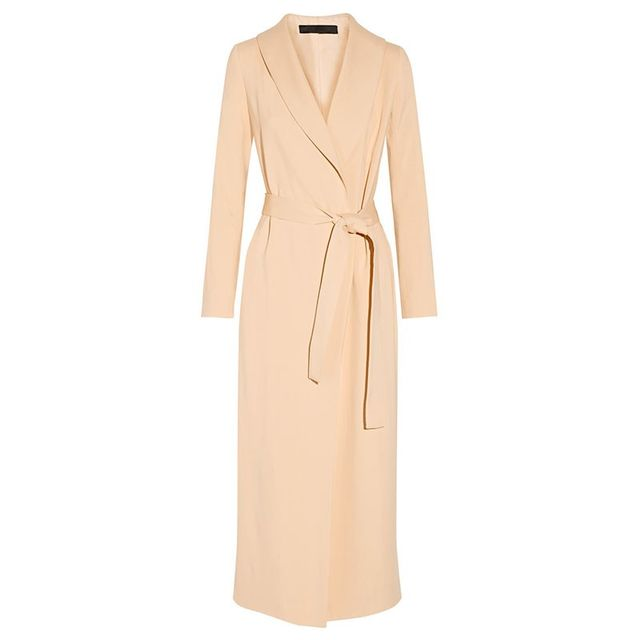 The Row Damo Crepe Wool Coat